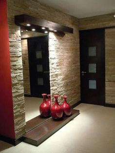 Artimozz is leading interior wall cladding tiles suppplier in delhi. Artimozz is leading lobby wall cladding tiles supplier in delhi and living room wall tile supplier in delhi Stone Interior, Interior Walls, Home Interior Design, Flur Design, Wall Design, House Design, Wall Cladding Tiles, Wall Tiles, Lobby Design