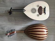 Handmade arab acoustic turkish oud lute 11 by SmoothGrooveDrums