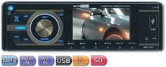 Automedia USB/SD Tuner With 3 Screen