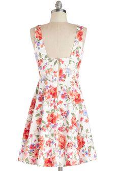 Good Things Arose Dress, #ModCloth