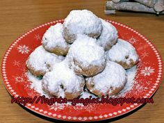 Αρχική Greek Sweets, Sunflower Oil, Greek Recipes, Sugar Cookies, Bakery, Deserts, Food And Drink, Dessert Recipes, Christmas