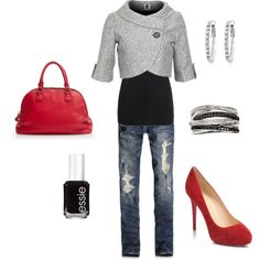 Night out, created by bstowe87 on Polyvore