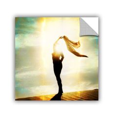 Body Light by Elena Ray Art Appeelz Removable Wall Mural