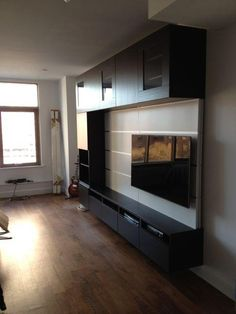 ikea besta unit installed in long island city queensikea besta unit installed in