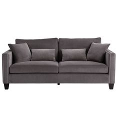 Samt sofa  Samt-Sofa Goldfinger (3-Sitzer) | Sofa daybed, Daybed and Living rooms