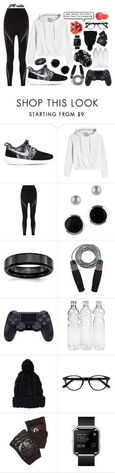 """""""29th December - """"Less me, more we."""""""" by jvc-nike ❤ liked on Polyvore featuring NIKE, Vetements, Fendi, Lord & Taylor, Eos, Nikon, Pieces, EyeBuyDirect.com, G-Loves and Fitbit"""