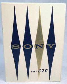Sony TR-620 box, via transistor radios