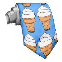 vanilla soft serve neckwear