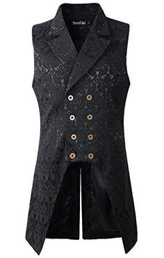 Mens Double Breasted Vest Waistcoat VTG Brocade Gothic St... https://www.amazon.com/dp/B01N9GRF0Z/ref=cm_sw_r_pi_dp_x_urHhzbHDHZ1NP