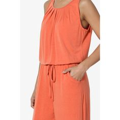 TheMogan - TheMogan Women's S~3X Casual Sleeveless Loose Wide Leg Pants Jumpsuit Lounge Jumper - Walmart.com - Walmart.com Mother Of The Bride Suits, Tall Women, Comfortable Outfits, Size Model, Wide Leg Pants, Beautiful Outfits, Lounge Wear, Pant Jumpsuit, Jumper