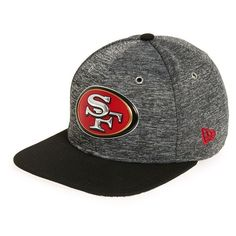 New Era Cap '9FIFTY Draft - San Francisco 49ers' Snapback Cap ($16) ❤ liked on Polyvore featuring men's fashion, men's accessories, men's hats, black, mens caps, mens hats, mens snapbacks, mens caps and hats and mens snapback hats