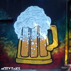 #citytoks #piwo #beer #katowice #streetart #graffiti