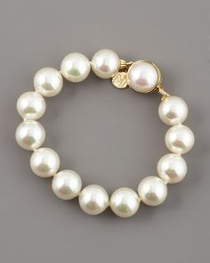 Majorica Pearl Bracelet - Neiman Marcus