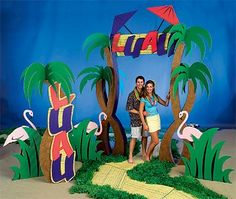 Tropical Party Decorating Ideas | 15. Flip-Flops (zoris, thongs, jangles) = Four words. _____Two. Fifty ...
