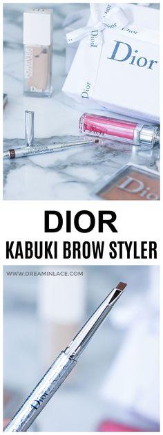 Reviewing Dior Makeup's new Diorshow Kabuki Brow Styler #makeup #beautyblog #beautyroutine Daily Beauty Routine, Beauty Routines, Dior Makeup, Beauty Makeup, Smokey Eye Tutorial, Eyes Lips Face, Perfect Brows, Brow Gel, Contouring And Highlighting