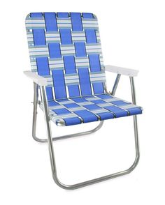Lawn Chairs Usa Leather Parsons 20 Best Aluminum Framed Webbing Images In 2019 Deck Chair Blue Sands Magnum With Arms