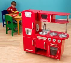 amazon: personalized kitchen playset for kids - pink: toys