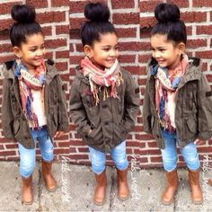 Toddler girl fall/winter outfit