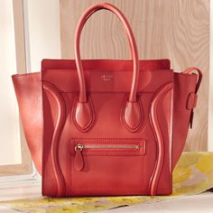 You look red-dy for this Celine tote.