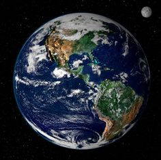 """Look at this amazing picture! Suggested: """"Earth from Space : Image of the Day :"""" from the NASA Earth Observatory Earth Poster, North And South America, Foto Art, Le Far West, To Infinity And Beyond, Our Planet, Planet Earth From Space, Earth Space, Small Planet"""