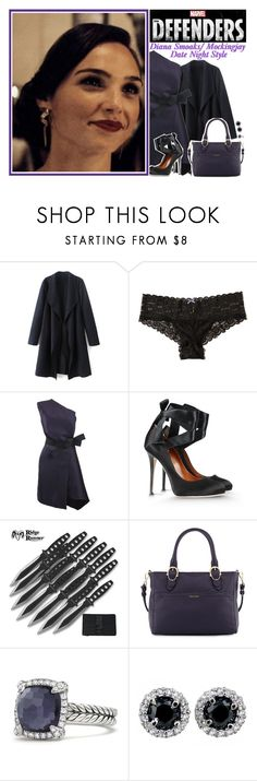 """""""✧; Diana Smoaks/ Mockingjay Date Night Style"""" by peytennclark ❤ liked on Polyvore featuring Hollister Co., Lanvin, Alberta Ferretti, Cole Haan, David Yurman and peytennsOCcharacters"""