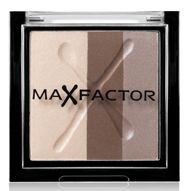 Η Max Factor Colour Effect Trio Eyeshadow είναι ένα σετ τριών σκιών  σε συμπληρωματικές αποχρώσεις, για να δώσετε βάθος και ένταση στο βλέμμα σας. Έχουν μεγάλη διάρκεια, απλώνονται έυκολα και έχουν μεταξένια υφή.Tip: Για να αποκτήσετε πιο έντονη απόδοση στο χρώμα, απλώστε τη σκιά με έν