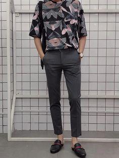Ideas Fashion Korean Men Street For 2019 Korean Fashion Men, Best Mens Fashion, Trendy Fashion, Fashion Trends, Fashion Styles, Korean Men Style, Retro Fashion Mens, Male Style, Korean Outfits
