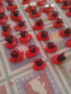 soraya's laboratory confetti laurea  in pdz (pasta di zucchero)