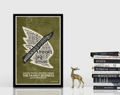 SuperNatural   Wing/Knife Quote Poster by OutNerdMe on Etsy