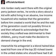 Percy Jackson Head Canon, Percy Jackson Quotes, Percy Jackson Fan Art, Percy Jackson Books, Percy Jackson Fandom, Tio Rick, Uncle Rick, Magnus Chase, Solangelo