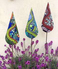 Glass garden mosaics- serpentine collection                                                                                                                                                                                 More #glassgarden