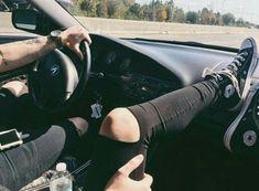 Immagine di couple, love, and car
