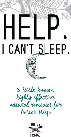 3 Surefire Ways To Take Charge Of Your Sleep Naturally Insomnia RemediesSleep