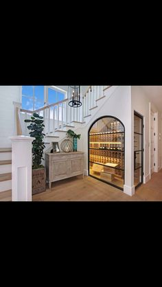 Wine cellar for the new house?