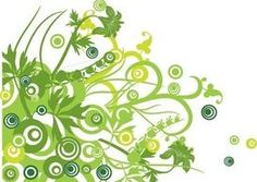 Floral design vector graphic design for you artworks. Green floral swirls on a white background. Art Design, Vector Design, Vector Art, Floral Design, Floral Vector Free, Design Graphique, Album Photo, Backgrounds Free, Free Vector Graphics