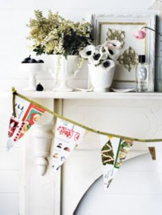 The Complete Guide to Imperfect Homemaking: What to do with Old Christmas Cards