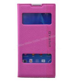 Sony Xperia Z2 Çift Pencereli Magnum Seri Kılıf Pembe -  - Price : TL29.90. Buy now at http://www.teleplus.com.tr/index.php/sony-xperia-z2-cift-pencereli-magnum-seri-kilif-pembe.html