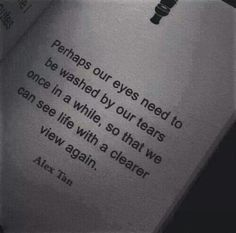 Quote | Book - Its OK to shed a tear.