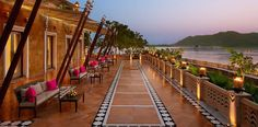 Indian interiors and sleek comfort waits in the The Sheraton Udaipur Palace Resorts 228 spacious luxury guest rooms and suites featuring, scenic lake views.