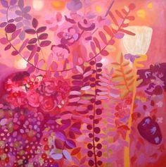 "Saatchi Art Artist Irene Guerriero; Painting, ""Sea of Roses"" #art"