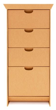 Au Naturel:  Cardboard & Cork Home Goods