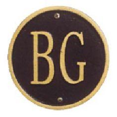 Lawn Pet Plaque Black with Gold Lettering - 5020BG