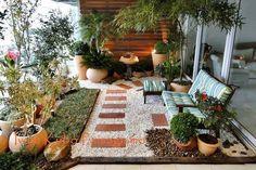 Backyard Patio Plants Outdoor Spaces Ideas For 2019 Terrace Garden, Indoor Garden, Outdoor Gardens, Home And Garden, Garden Path, Backyard Patio, Backyard Landscaping, Outdoor Rooms, Outdoor Decor