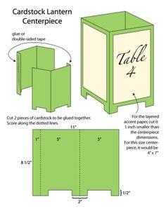 DIY Wedding Challenge: Paper Lantern Centerpieces - Project Wedding by kesh0410