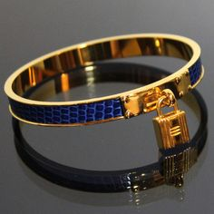 HERMES Bangle Exotic Leather by fashionsquid