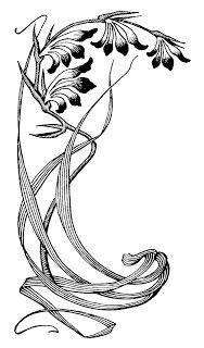 Art Deco / Nouveau Flowers