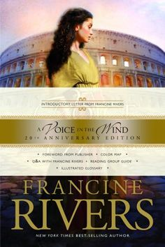 "A Voice in the Wind, Francine Rivers. Yes, I read this and it's sequel, ""An Echo In The Darkness."" Francine Rivers, a former Romance novelist, injects a chaste ""bodice ripper"" feel along with a christian morality. Sound odd? It actually works. The books are historically accurate, portraying 70CE Jerusalem and Rome.  It's a good read. I keep an open mind."