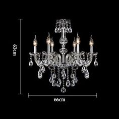 European Luxury dining room crystal candle Chandelier romantic bedroom chandelier high quality living room chandelier -1