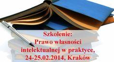 Prawo własności intelektualnej to jedna z najbardziej dynamicznie rozwijających się dziedzin prawa. Ustawy z tego zakresu podlegają częstym nowelizacjom, a kierunek zmian wciąż jest trudny do przewidzenia.   http://www.szkolenia.avenhansen.pl/szkolenia-otwarte/prawo-wlasnosci-intelektualnej-w-praktyce-2014-02-24-krakow.html