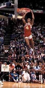 "Anthony Jerome ""Spud"" Webb Slam Dunk Contest Winner - 1986"